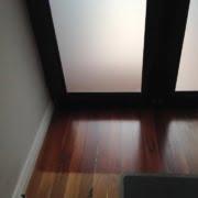 Front door floor UV damage